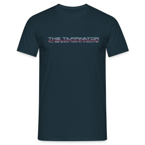 Taffinator NAVY Comfort Minute - Men's T-Shirt