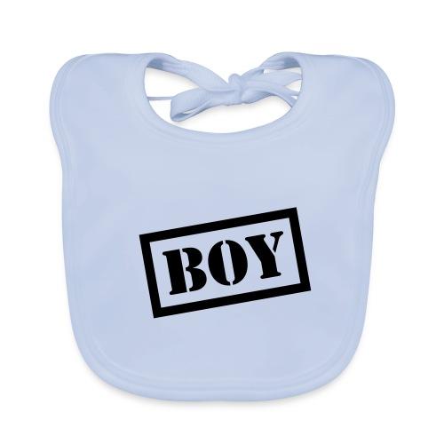 haklapp pojke - Ekologisk babyhaklapp
