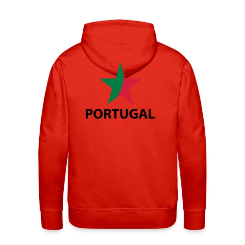 Cristiano Ronaldo T-shirt - Herre Premium hættetrøje