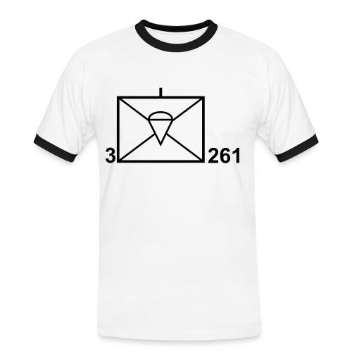 Shirt Taktisches Zeichen - Männer Kontrast-T-Shirt