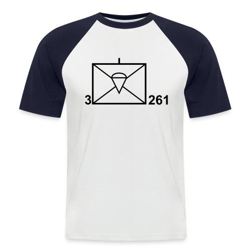 Shirt Taktisches Zeichen - Männer Baseball-T-Shirt