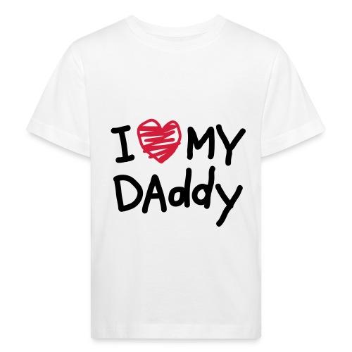 Papa ist der Beste - Kinder Bio-T-Shirt