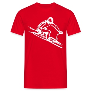 Downhill Skiing - Men's T-Shirt