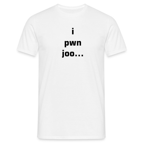 i pwn joo... n00b - Men's T-Shirt