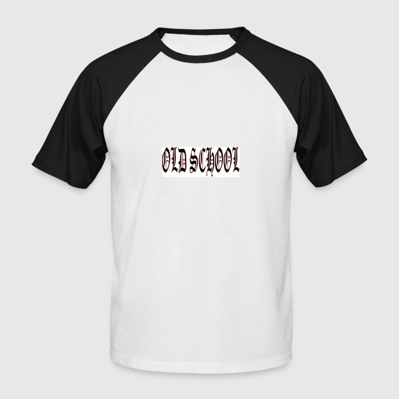 OLD SCHOOL T-Shirt - Männer Baseball-T-Shirt