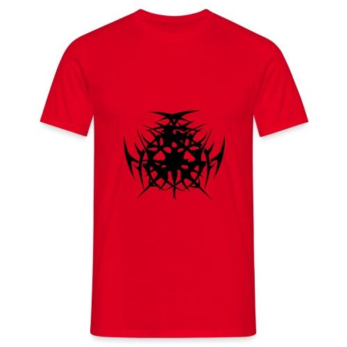 tribal spikes - Men's T-Shirt