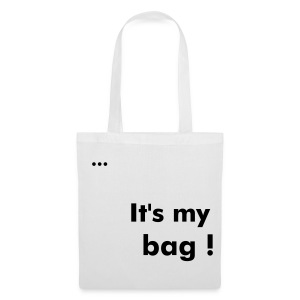 It's my bag White - Tote Bag