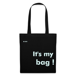 It's my bag Black - Tote Bag