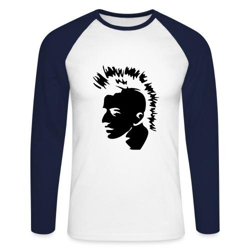 pu nk - Men's Long Sleeve Baseball T-Shirt