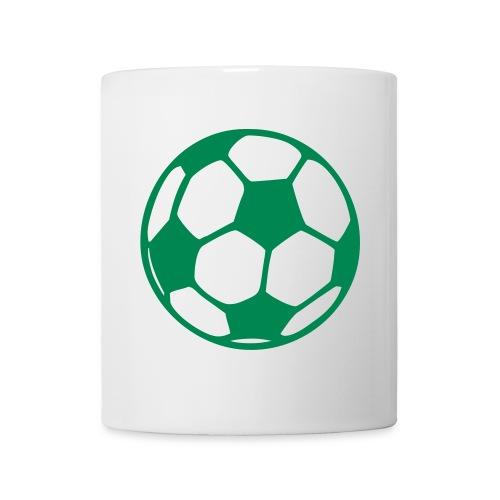Tasse mit Fußball - Tasse