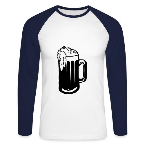 New Quan Shirt - Mannen baseballshirt lange mouw