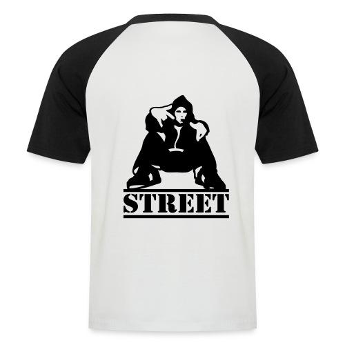 New Quan Shirt - Mannen baseballshirt korte mouw