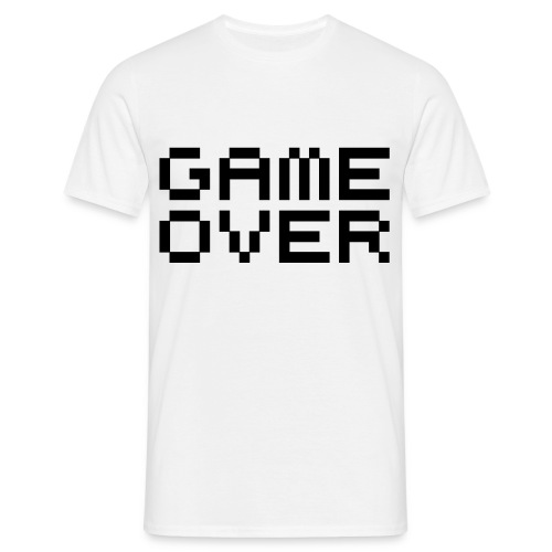 Game Over T-skjorte - T-skjorte for menn
