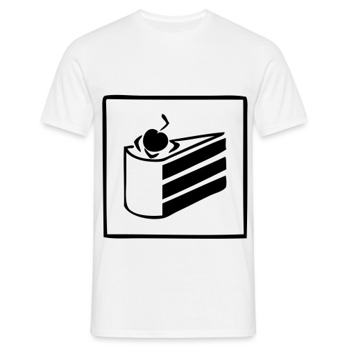 The Cake - T-skjorte for menn