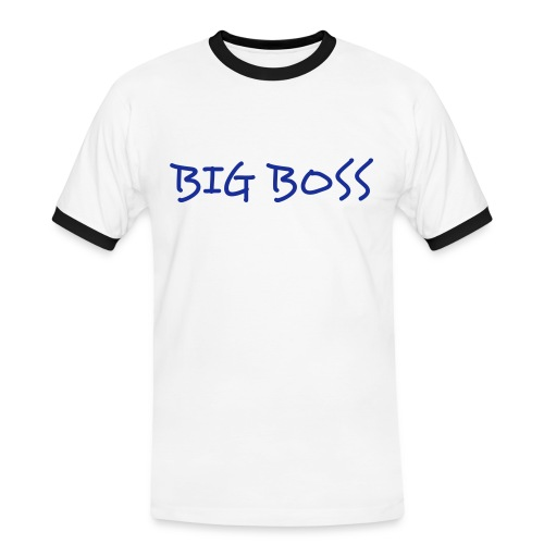 BIG BOSS - T-shirt contrasté Homme