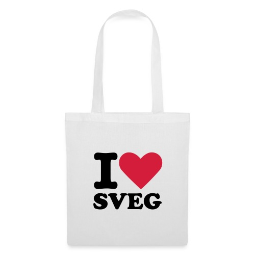 I Love Sveg shoppingväska - Tygväska