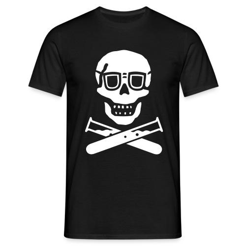 Science Skull - Men's T-Shirt