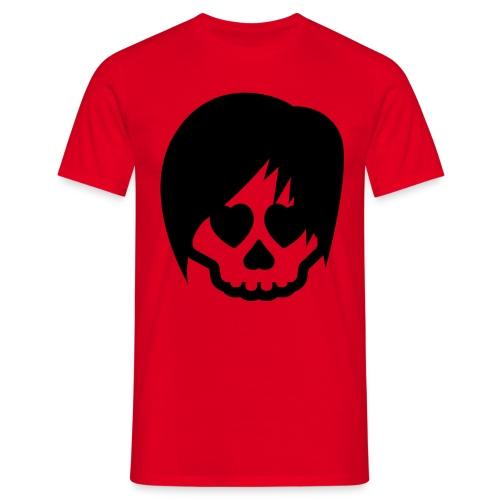 Emo Skull - Men's T-Shirt