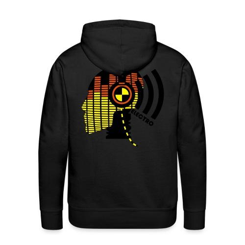 Electro  - Mannen Premium hoodie