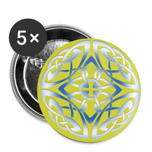 Celtic disk badges - Buttons medium 32 mm