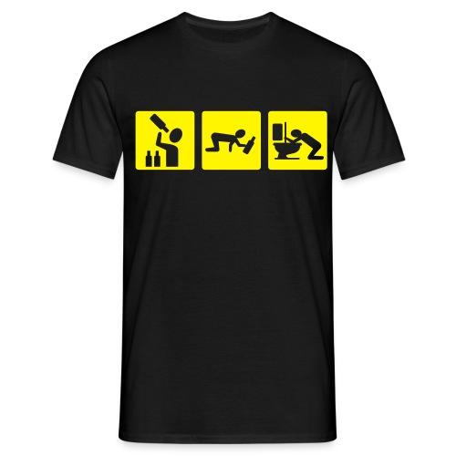 Drinking t-shirts - Maglietta da uomo