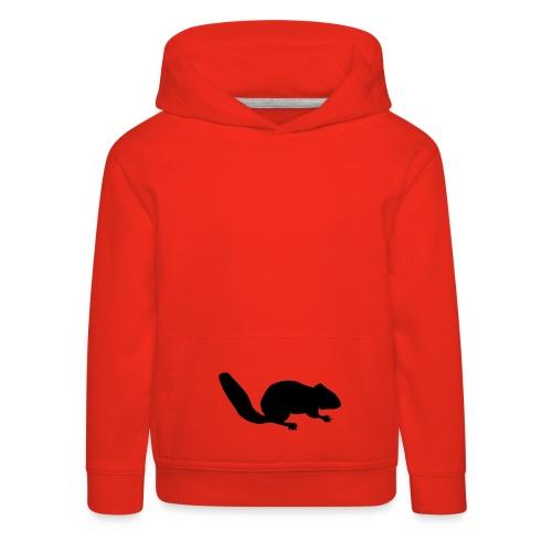 Sweat-shirt enfant écureuil - Pull à capuche Premium Enfant