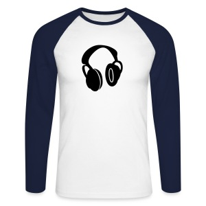Hey Mr DJ - Men's Long Sleeve Baseball T-Shirt