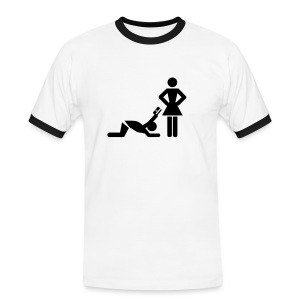 Women - Men's Ringer Shirt