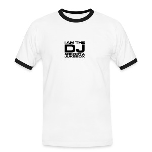 DJ I am not - Men's Ringer Shirt