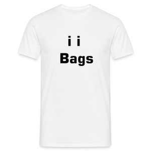 Bags under the i's - Men's T-Shirt