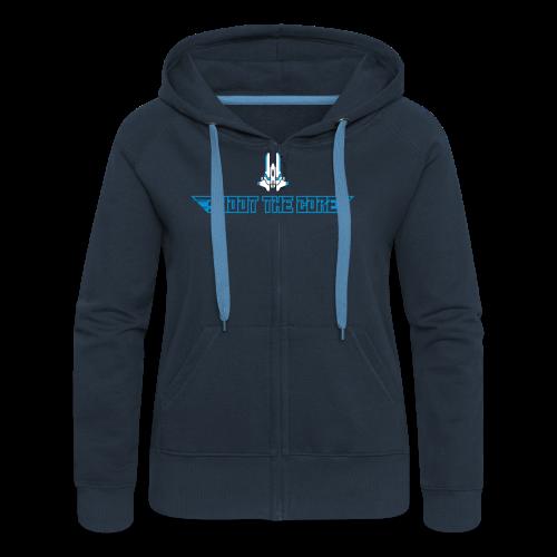 Shoot the core, hsg - Women's Premium Hooded Jacket