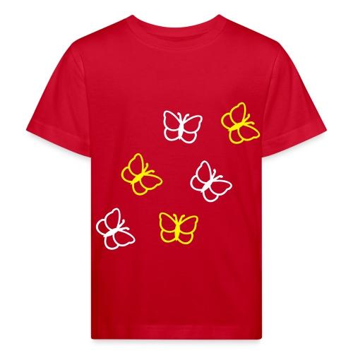 Schmetterlinge - Kinder Bio-T-Shirt