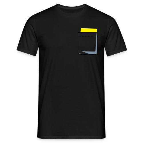 Yellow Card - Men's T-Shirt