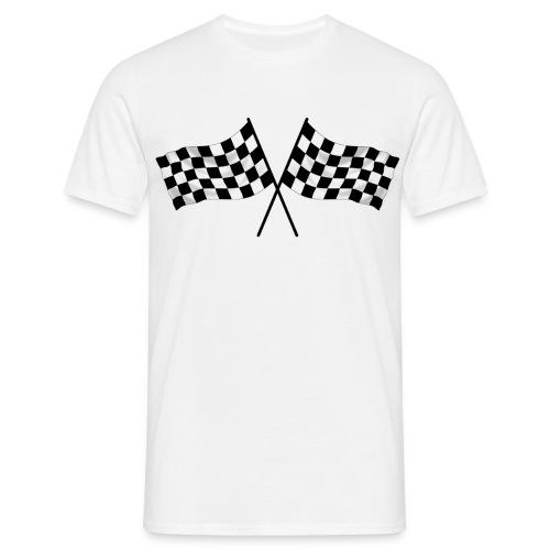 racing flag - Men's T-Shirt