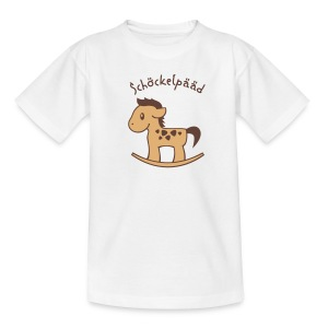 Schoeckelpaeaed - Teenager T-Shirt