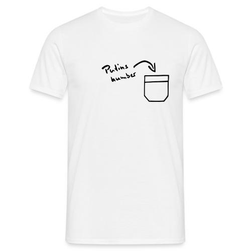 Putins Nummer - Männer T-Shirt