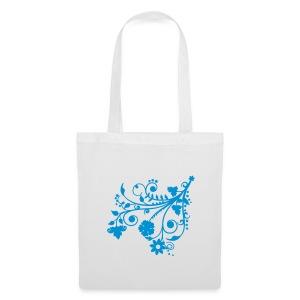 Handlepose Blomst - Stoffveske