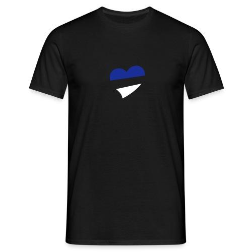 Men's Centred Heart T-Shirt - Men's T-Shirt