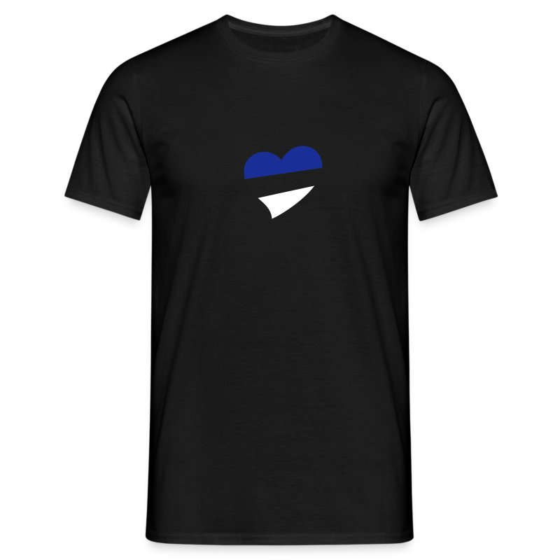 Men's Centred Heart T-Shirt - Men's T-Shirt