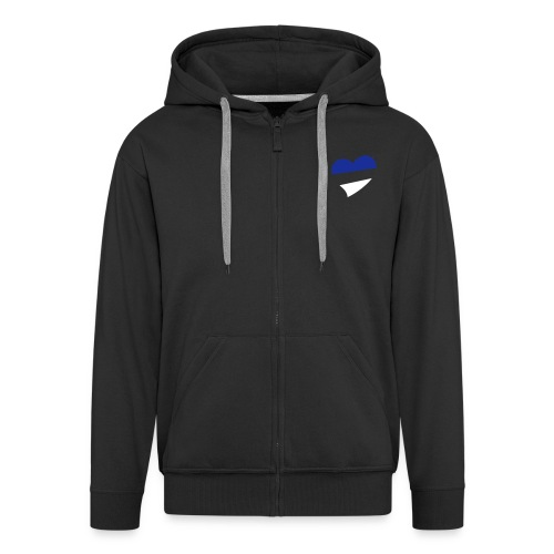 Men's Heart Hooded Jacket - Men's Premium Hooded Jacket