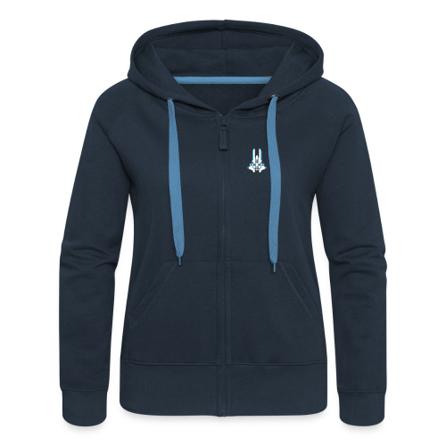 Shoot the core (back- and frontprint) - Women's Premium Hooded Jacket