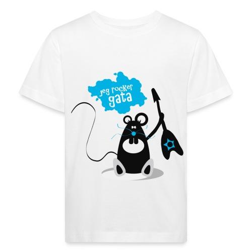 Jeg rocker gata - Økologisk t-skjorte for barn - Økologisk T-skjorte for barn