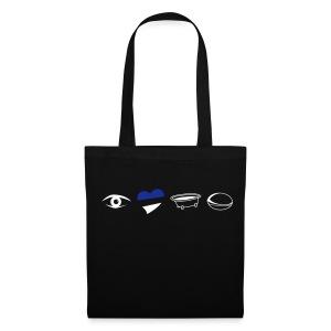 Eye Heart Bath Tote Bag - Tote Bag