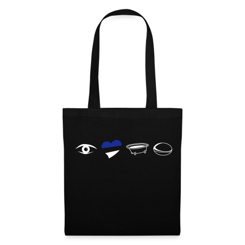 Eye Heart Bath Tote Bag - Tote Bag