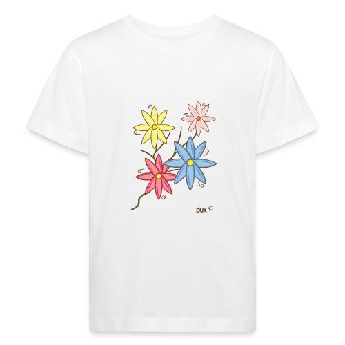 flowers - Kids' Organic T-Shirt