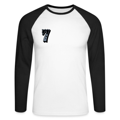 trival - Langermet baseball-skjorte for menn