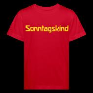 T-Shirts ~ Kinder Bio-T-Shirt ~ Sonntagskind Bio Shirt