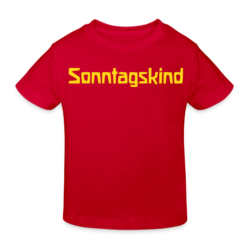 Sonntagskind Bio Shirt - Kinder Bio-T-Shirt
