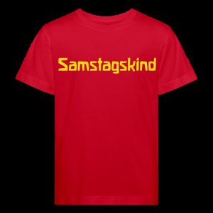 Samstagskind Bio Shirt - Kinder Bio-T-Shirt