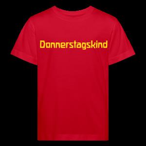 Donnerstagskind Bio Shirt - Kinder Bio-T-Shirt